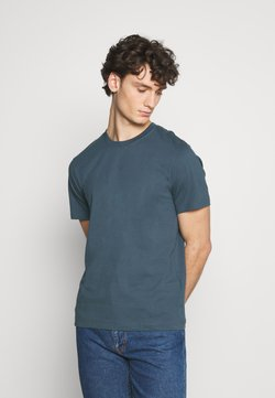 ARKET - BASIC MIDWEIGHT  - T-Shirt basic - green dark