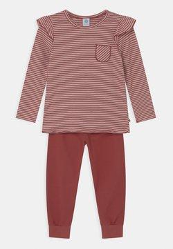 Sanetta - STRIPES - Pyjama - redwood