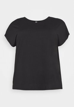 ONLY Play - ONPADREY LOOSE TRAINING TEE - T-Shirt basic - black/white