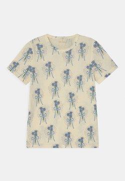 Mini Rodini - WINTERFLOWERS TEE UNISEX - T-shirt med print - off-white