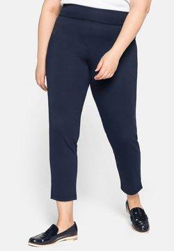 Sheego - Pantalones - nachtblau