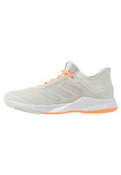 adidas Performance - ADIZERO CLUB - Zapatillas de tenis para todas las superficies - orbit grey/silver metallic/signal orange