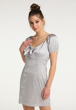 myMo at night - Vestito elegante - silber
