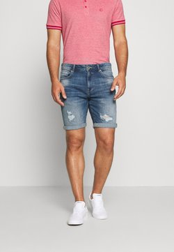 Solid - REGULAR RYDER BLUE 287 - Jeansshort - blue denim