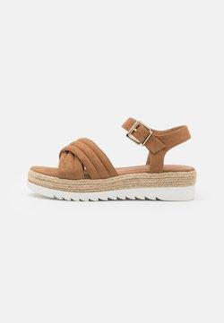 Anna Field - Korkeakorkoiset sandaalit - camel
