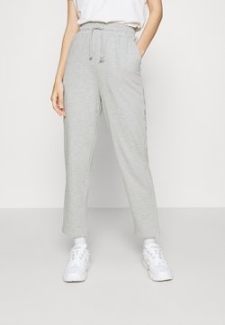 Even&Odd - TAPERED LEG SLIM FIT JOGGER - Jogginghose - mottled light grey