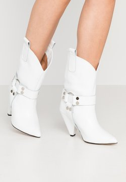 L37 - EVEN LOUDER - High Heel Stiefel - white