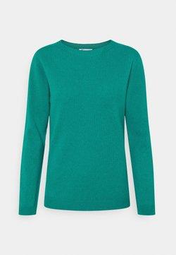 Johnstons of Elgin - GAUZY CREW NECK - Sweter - green