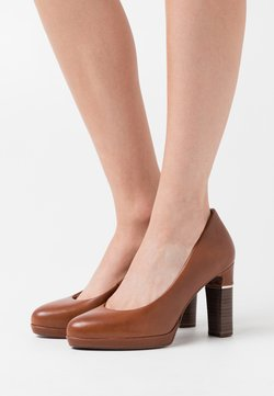 Tamaris Heart & Sole - COURT SHOE - High Heel Pumps - brandy