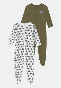Name it - NBMNIGHTSUIT LODEN TURTLE 2 PACK - Kruippakje - loden green