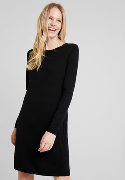 edc by Esprit - DRESS - Gebreide jurk - black