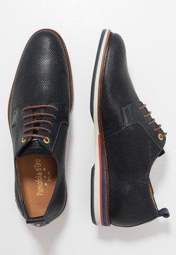 Pantofola d'Oro - FIUGGI UOMO LOW - Veterschoenen - dress blues