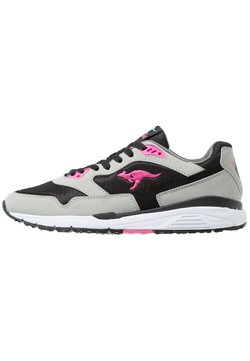 KangaROOS - ULTIMATE STAR - Sneaker low - semi grey/black