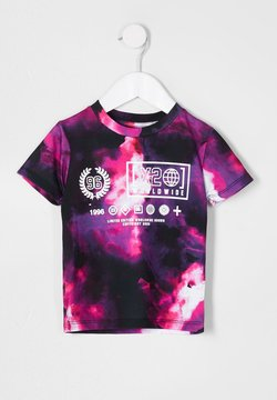 River Island - T-shirt print - pink