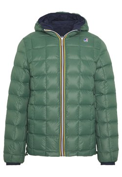 K-Way - UNISEX JAQUES THERMO PLUS DOUBLE - Winterjacke - blue maritime/green darkforest