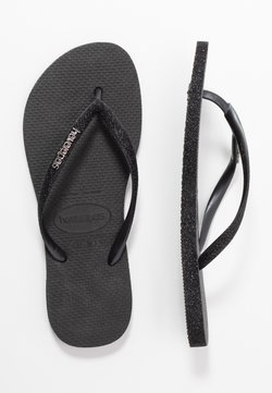 Havaianas - SLIM FIT SPARKLE - Teensandalen - black