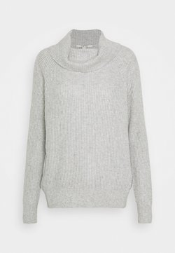 Esprit - ROLLNECK - Neule - light grey