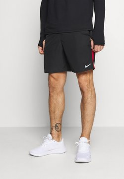 Nike Performance - RUN SHORT - Pantalón corto de deporte - black/university red/reflective silver