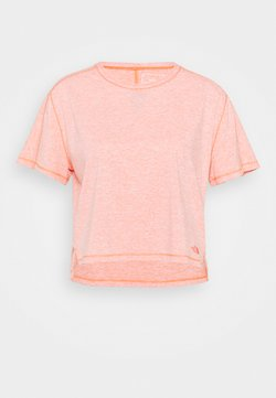 The North Face - DAWNDREAM RELAXED - T-shirt basic - emberglow orange heather