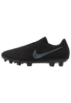 Nike Performance - PHANTOM  ACADEMY FG - Moulded stud football boots - black/metallic vivid gold