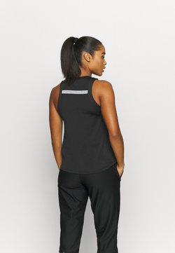 Nike Performance - AIR TANK - Camiseta de deporte - black/silver