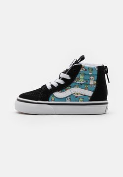 Vans - SK8 ZIP UNISEX - Korkeavartiset tennarit - delphinium blue/true white