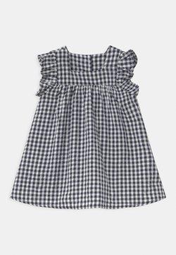 Cotton On - ANNIE FLUTTER SLEEVE  - Korte jurk - navy blazer