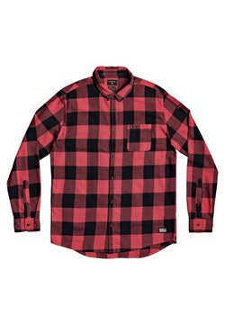 Quiksilver - MOTHERFLY - Overhemd - americas red motherfly