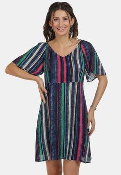 IZIA - Freizeitkleid - multicolor gestreift