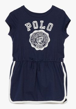 Polo Ralph Lauren - GRAPHIC DRESSES - Jerseykleid - french navy