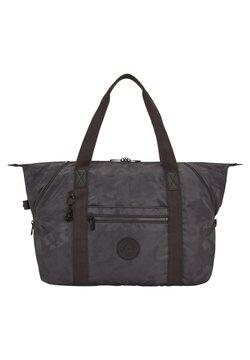 Kipling - ART M - Shoppingväska - charcoal jacquard