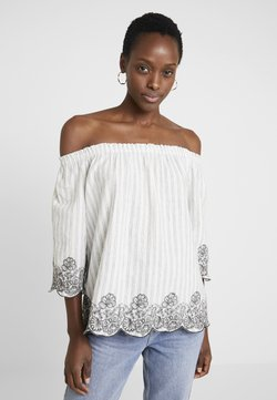 Esprit - STRIPE - Bluse - off white