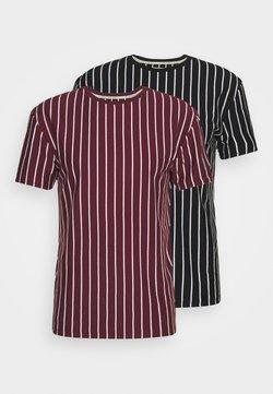 Newport Bay Sailing Club - 2 PACK - T-Shirt print - black / burgundy