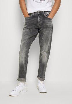 G-Star - 3301 STRAIGHT TAPERED - Jeans Straight Leg - grey denim