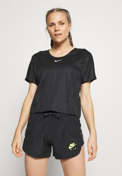 Nike Performance - CITY SLEEK - Camiseta básica - black/white