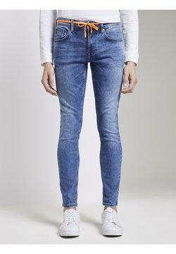 TOM TAILOR DENIM - Jeans Slim Fit - random bleached  blue denim
