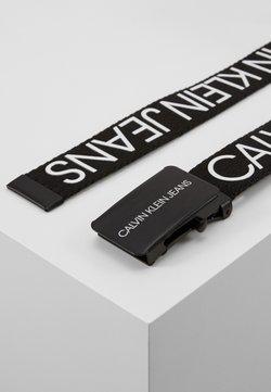 Calvin Klein Jeans - LOGO BELT UNISEX - Gürtel - black
