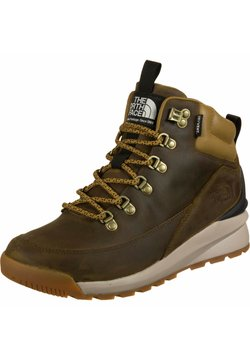 The North Face - BACK TO BERKLEY MID - Schnürstiefelette - utility brown/black