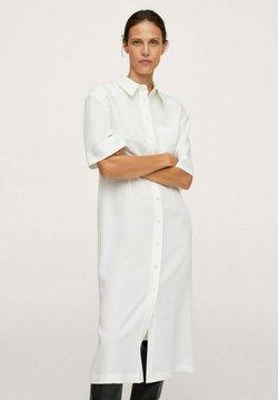 Mango - ROBE  - Sukienka koszulowa - blanc cassé