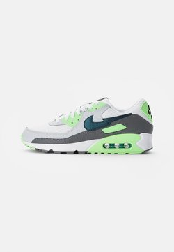Nike Sportswear - NIKE AIR MAX - Sneakersy niskie - white/aquamarine-lime glow-off noir-pure platinum