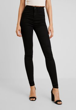 Noisy May - NMNEW LEXI - Jeans Skinny Fit - black denim