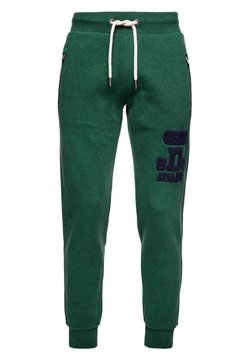 Superdry - Jogginghose - willow green grit