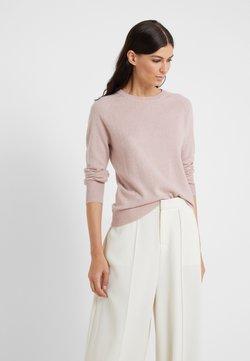 pure cashmere - CLASSIC CREW NECK  - Stickad tröja - dust pink