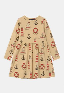 Mini Rodini - LIGHTHOUSE - Jerseykleid - yellow