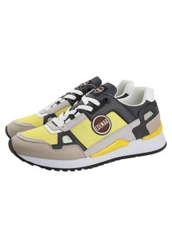 Colmar - TYLER SPEED - Sneaker low - yellow / warm grey