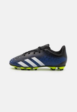 adidas Performance - PREDATOR FREAK .4 FXG UNISEX - Chaussures de foot à crampons - royal blue/footwear white/core black
