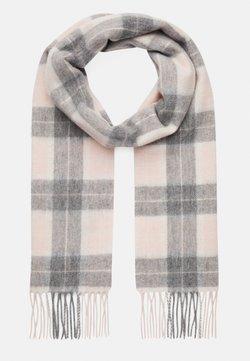 Barbour - SET - Szal - pink/grey tartan