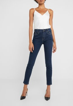 Current/Elliott - THE 7-POCKET STILETTO - Jeans Skinny Fit - demir