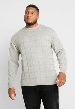 Jack´s Sportswear - GEOMETRIC PATTERN O-NECK - Pullover - grey melange