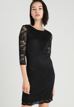 Vero Moda - VMSANDRA 3/4 DRESS - Sukienka etui - black